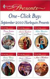 One-Click Buy: September 2010 Harlequin Presents: Marriage: To Claim His Twins\Kat and the Dare-Devil Spaniard\The Andreou Marriage Arrangement\The Billionaire's Housekeeper Mistress\One Night...Nine-Month Scandal\The Virgin's Proposition