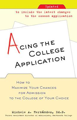 Acing the College Application PDF