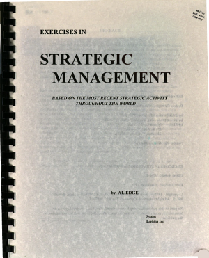 Exercises in strategic management PDF