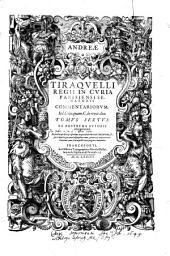 Commentariorum ... Tomus Sextus; Ex Postrema Autoris recognitione (etc.): Volume 6