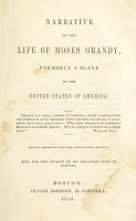 Narrative of the Life of Moses Grandy PDF