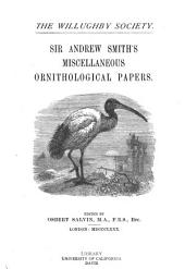 Sir Andrew Smith's Miscellaneous Ornithological Papers