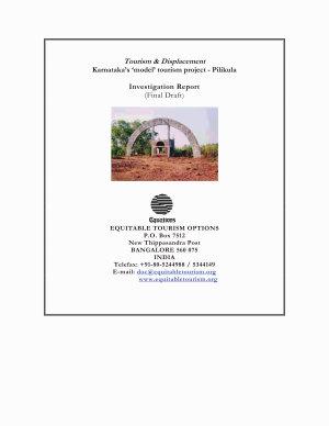 Tourism and Displacement  Pilikula     Karnataka   s model Tourism Project  PDF