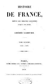 Histoire de France: Volume10