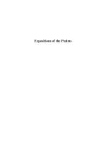 Expositions of the Psalms 121-150 (Vol. 5)
