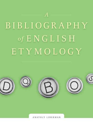 A Bibliography of English Etymology PDF