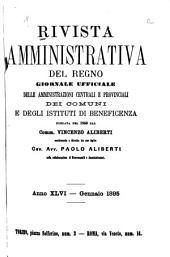 Rivista amministrativa del regno: Volume 46