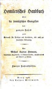 Homiletisches Handbuch über die sonntäglichen Evangelien des ganzen Jahrs: Volume 2