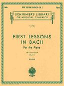 First Lessons In Bach