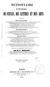 Dictionnaire universel des sciences, des lettres et des arts: rédigé avec la collaboration d'auteurs spéciaux