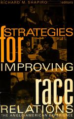 Strategies for Improving Race Relations