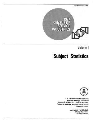 1977 Census of Service Industries  Subject statistics PDF