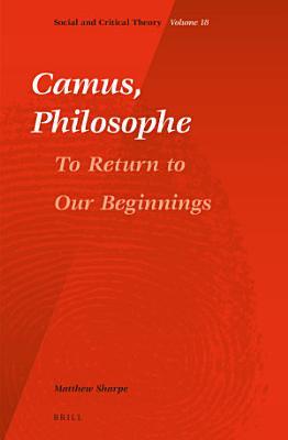 Camus  Philosophe PDF
