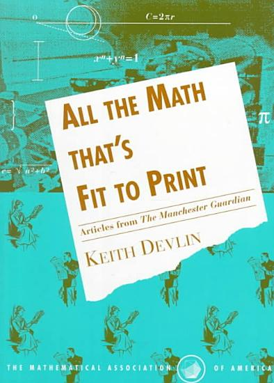 All the Math That s Fit to Print PDF