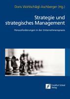 Strategie und strategisches Management PDF