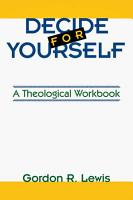 Decide for Yourself PDF
