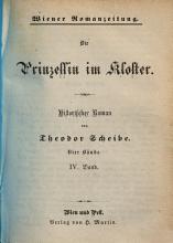 Die Prinzessin im Kloster   Historischer Roman PDF