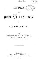 Handbook of Chemistry: Volume 1
