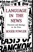 Language in the News PDF