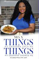 Download Things My Grandma Told Me  Things My Grandma Showed Me Book