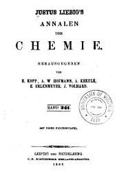 Justus Liebigs Annalen der Chemie: Bände 241-242