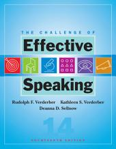 The Challenge of Effective Speaking: Edition 14