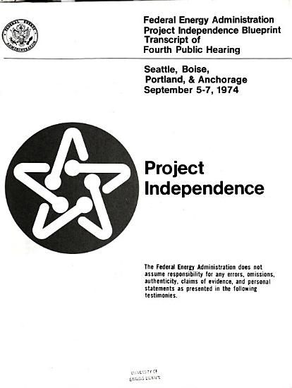 Project Independence Blueprint PDF