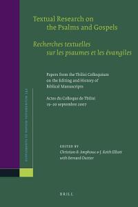 Textual Research on the Psalms and Gospels   Recherches textuelles sur les psaumes et les   vangiles PDF