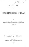 A Treatise on the Petroleum Zones of Italy PDF