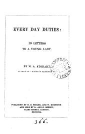 Every day duties: in letters to a young lady