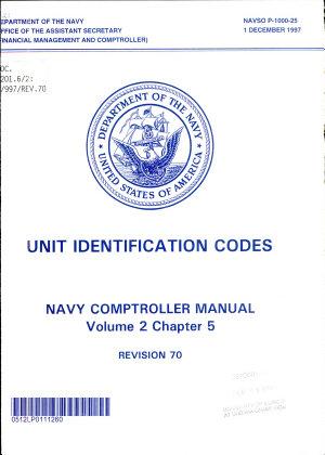 Navy Comptroller Manual PDF