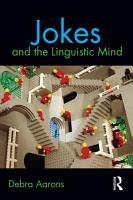 Jokes and the Linguistic Mind PDF