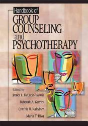 Handbook Of Group Counseling And Psychotherapy Book PDF