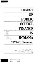 Digest of Public School Finance in Indiana PDF