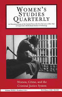 Women  Crime and the Criminal Justice System PDF