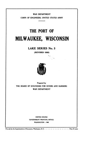 The Port of Milwaukee  Wisconsin