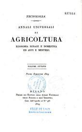 Annali universali di agricoltura di industria e d'arti economiche