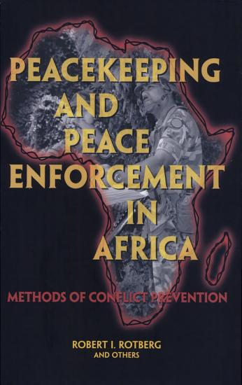 Peacekeeping and Peace Enforcement In Africa PDF