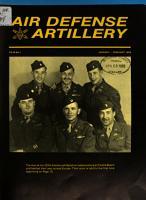 Air Defense Artillery PDF