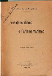 Presidencialismo e parlamentarismo PDF