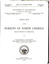Report on the Forests of North America (exclusive of Mexico)