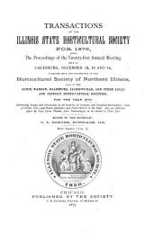 Transactions of the Illinois State Horticultural Society: Volume 10