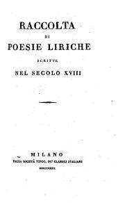 Raccolta di poesie liriche scritte nel
