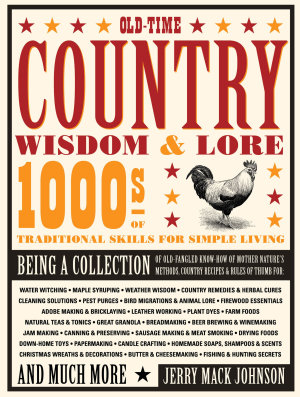 Old Time Country Wisdom   Lore