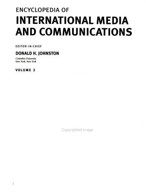 Encyclopedia of International Media and Communications PDF