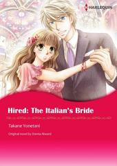 HIRED: THE ITALIAN'S BRIDE: Harlequin Comics