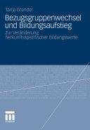 Bezugsgruppenwechsel und Bildungsaufstieg PDF