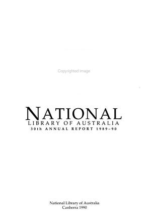 Annual Report   National Library of Australia PDF