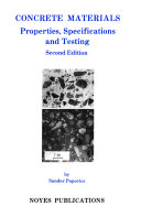 Concrete Materials, 2nd Ed.