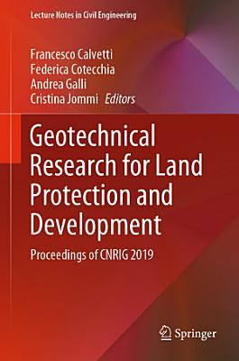 Geotechnical Research for Land Protection and Development